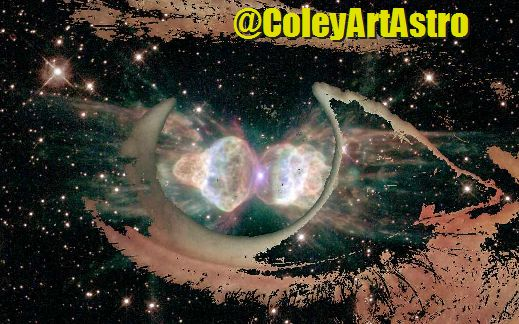 The Nebula that looks like a Garden Ant – ColeyArtAstro