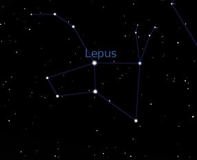 Lepus is under Orion | ColeyArtAstro